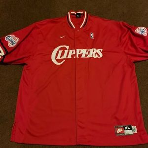 Xl Nike clippers warm up